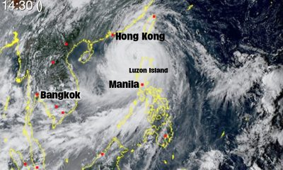 Mangkhut claims two lives as it heads towards Hong Kong | The Thaiger