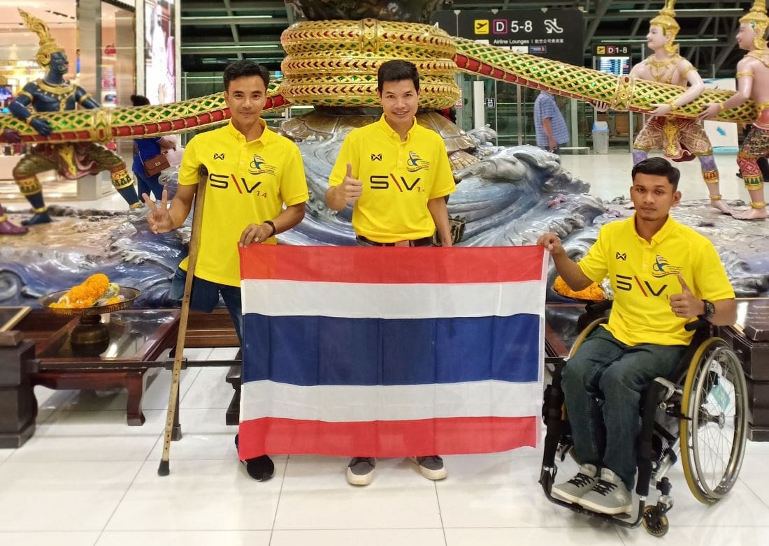 Thai sailors to compete in the Para World Sailing Champs in US   The Thaiger