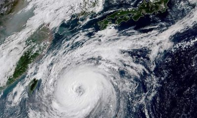 Typhoon Trami cuts across Japan   The Thaiger