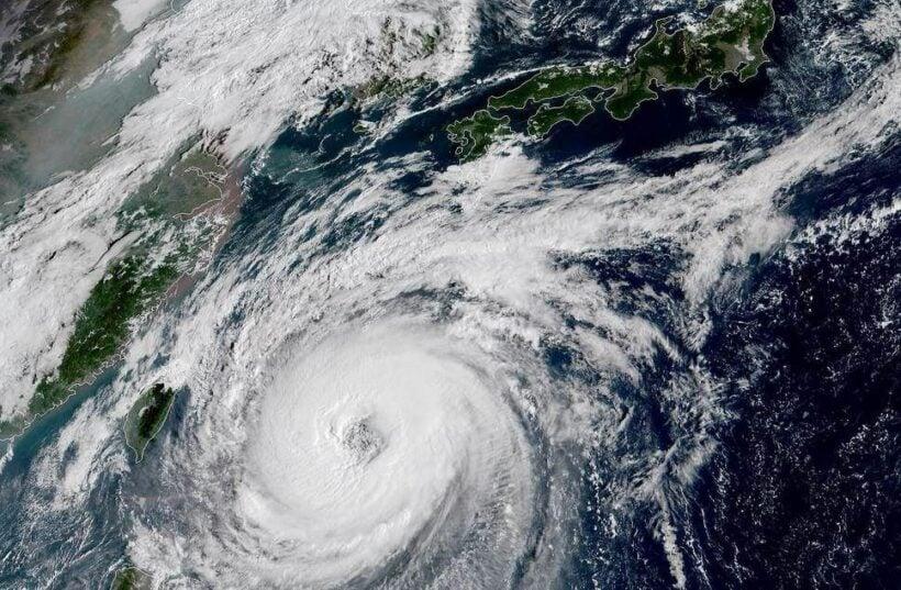 Typhoon Trami cuts across Japan | The Thaiger