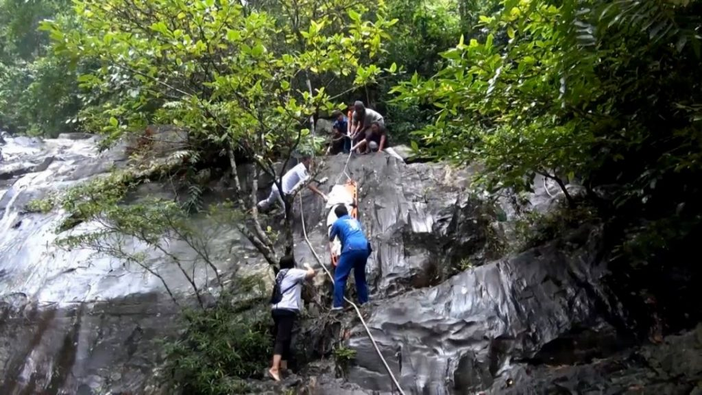 Chinese woman's death at a Hat Yai waterfall is now a murder investigation | News by The Thaiger