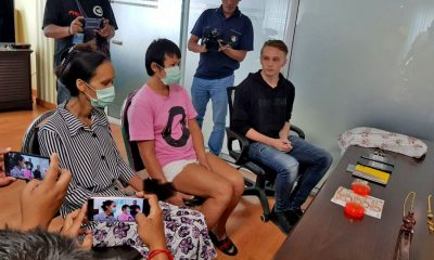 Ladyboys nabbed for picking tourist's pockets in Pattaya   The Thaiger