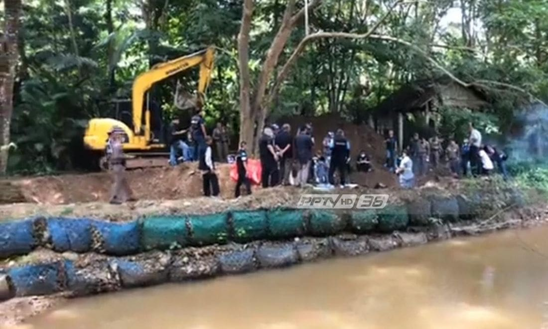 Bodies of missing British man and Thai wife found buried in garden in Phrae | The Thaiger