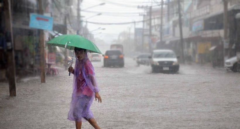 Weather warnings out for mid-week | The Thaiger
