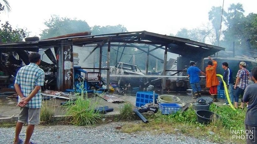 Fireworks factory explodes in Chachoengsao | News by The Thaiger