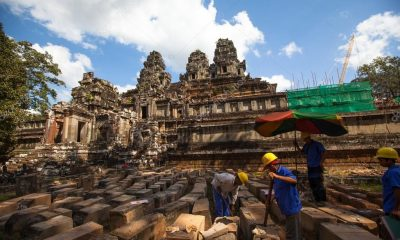 Saving ancient stone – restoration of the Angkor heritage sites   The Thaiger