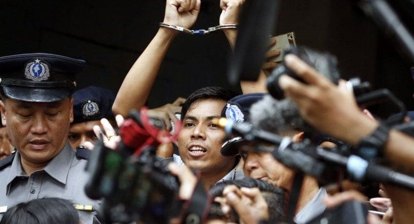 Reuters reporters jailed for seven years in Myanmar | News by The Thaiger