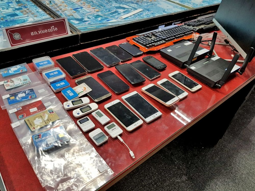 20 Chinese arrested over betting and investment web-scams | News by The Thaiger