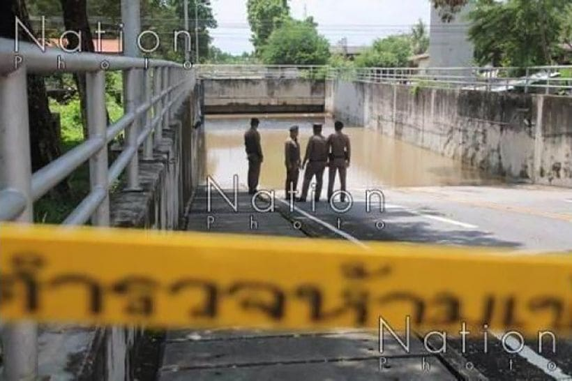 Woman drowns in underpass nearby her home   The Thaiger