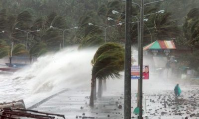 Mega storm bears down on Luzon Island, The Philippines | The Thaiger