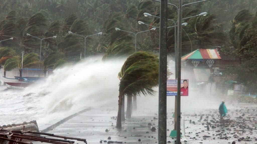 Mega storm bears down on Luzon Island, The Philippines   The Thaiger