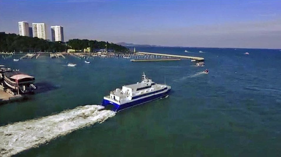 New ferry service between Prachuap Khiri Khan and Sattahip under discussion   News by The Thaiger