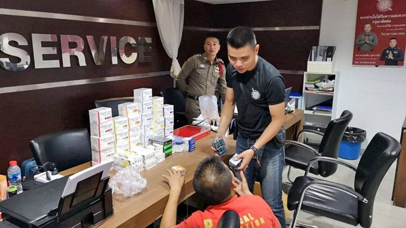 Pattaya gambling raid finds dice, money. And sex drugs. | News by The Thaiger