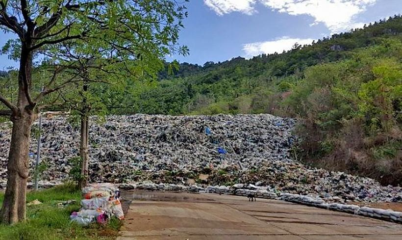 Koh Tao finds a way to get rid of its trash | The Thaiger