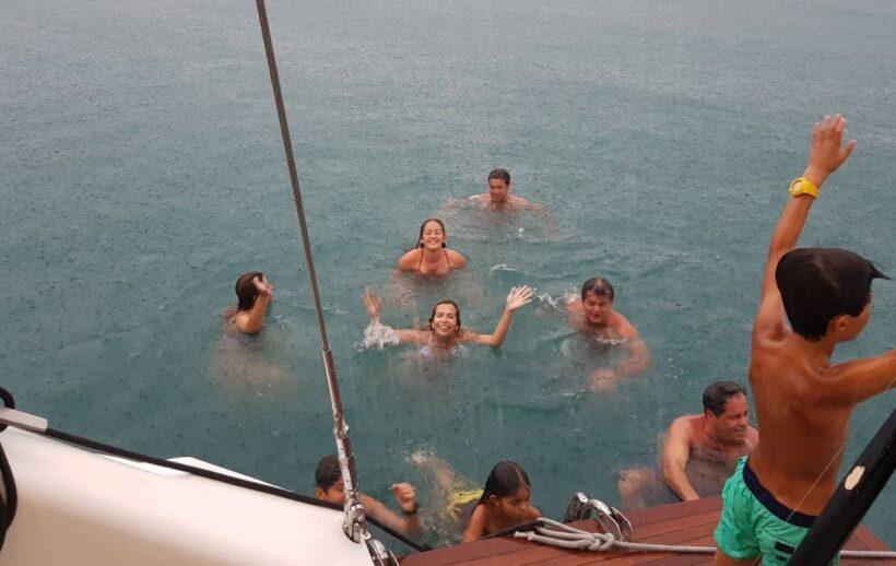 TIGERMARINE CHARTER แจงกรณีเรือใบนทท.เครื่องดับใกล้เกาะพีพี   The Thaiger
