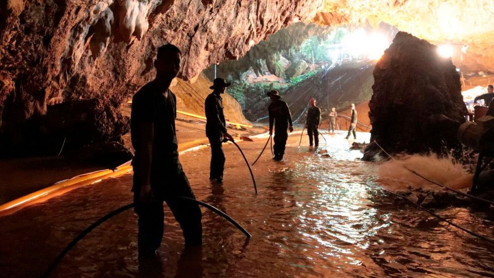 Cave film starts shooting in November   News by The Thaiger