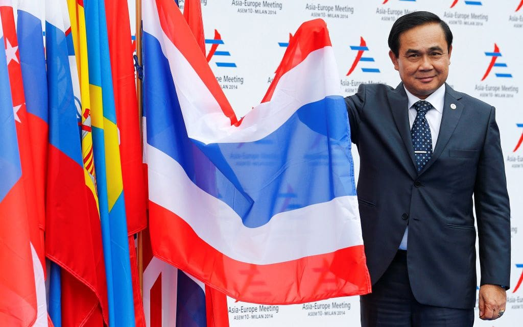Thai PM fires back at media over question of his political future | The Thaiger