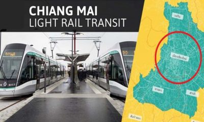 Green light for new Chiang Mai light rail project   The Thaiger