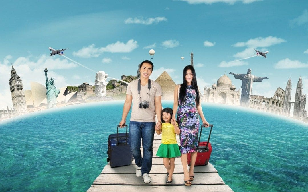 Asian families travel twice as much as Western families | The Thaiger