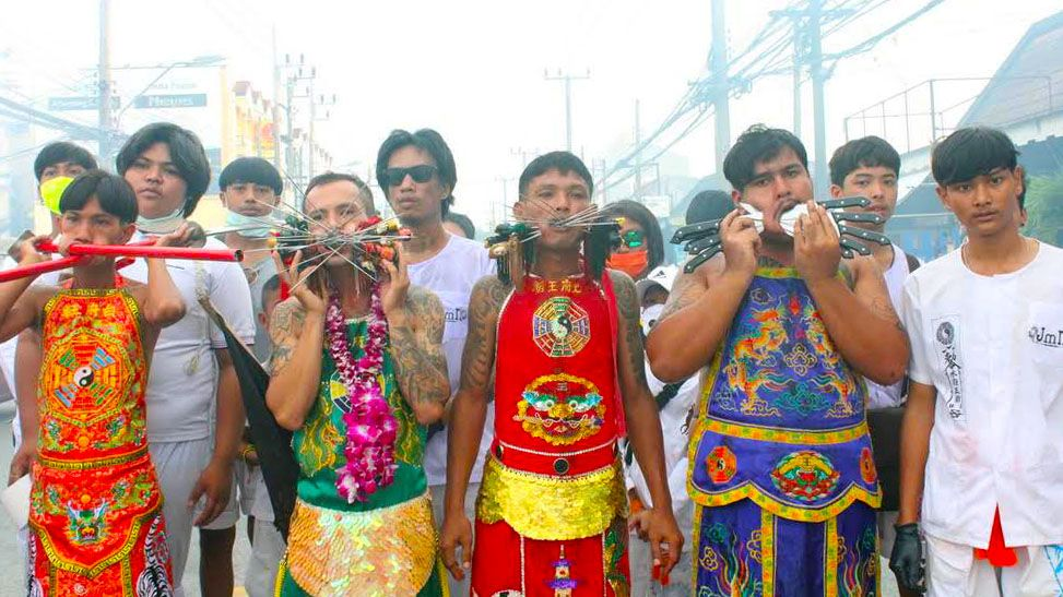 Phuket Vegetarian processions continue - Day Three | News by The Thaiger