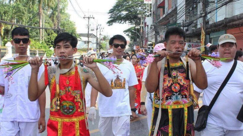 ขบวนแห่พระรอบเมืองอ๊ามสะปำ-บางคู ประเพณีถือศีลกินผักภูเก็ตคึกคัก | News by The Thaiger