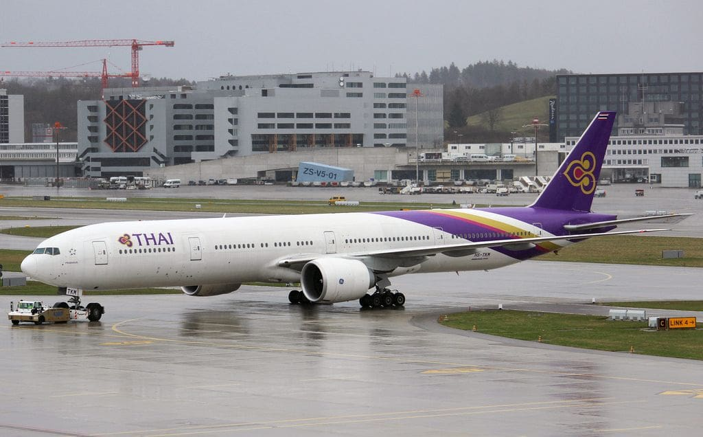 Thai Airways apologises for the Zurich-Bangkok stuff up   The Thaiger