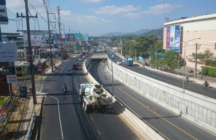 Darasamut Underpass to be temporary closed   The Thaiger