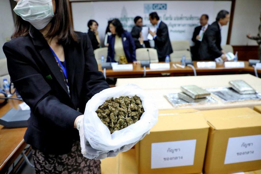 """""""Don't rush to legalise marijuana"""" 