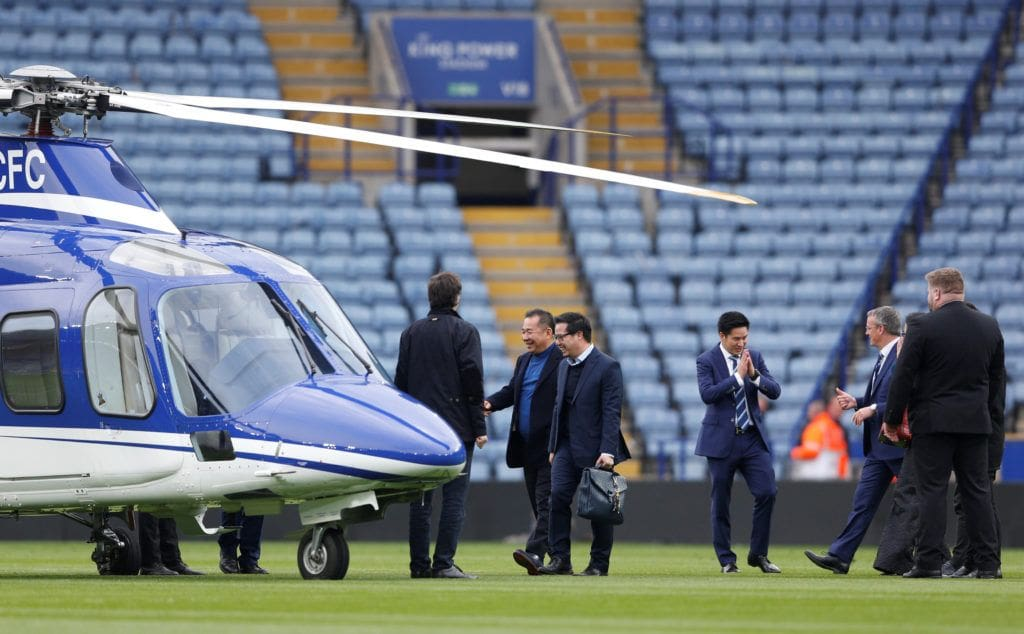 Unofficial confirmations that Vichai Srivaddhanaprabha was aboard crashed helicopter | The Thaiger