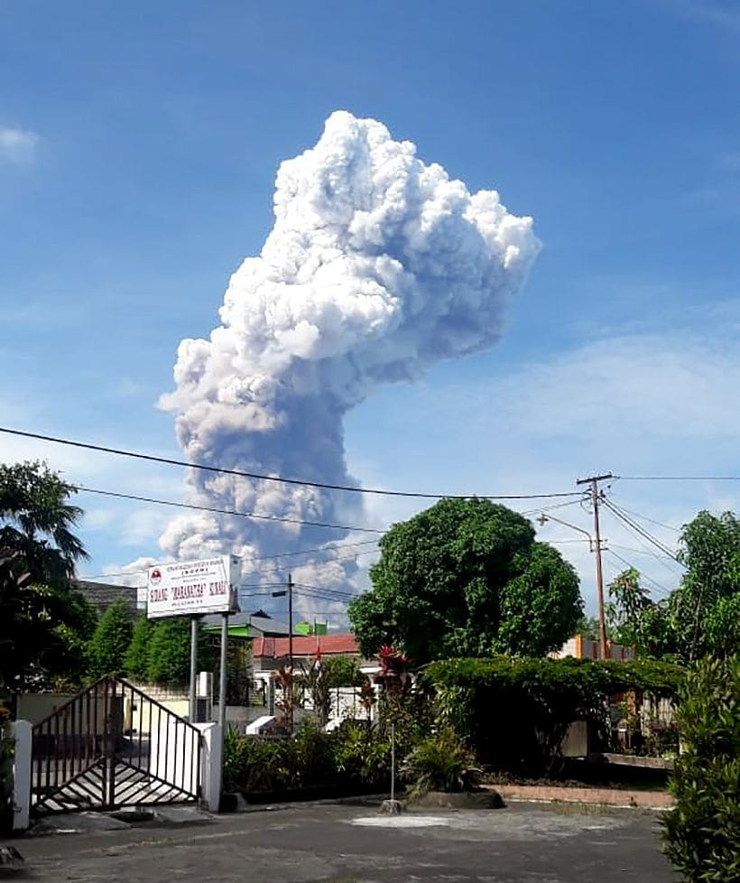 An earthquake, a tsunami, now a bubbling volcano - Sulawesi | News by The Thaiger