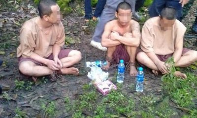 Escaped prisoner trio recaptured in Chumphon | The Thaiger