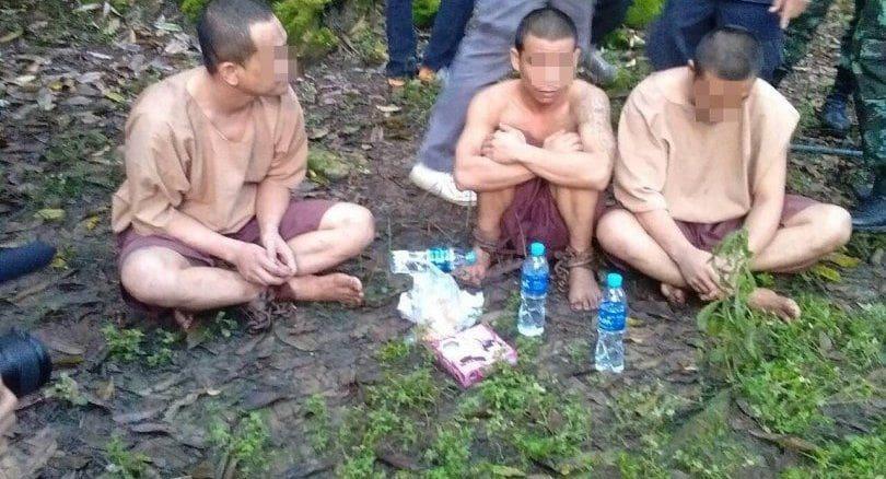 Escaped prisoner trio recaptured in Chumphon | The Thaiger