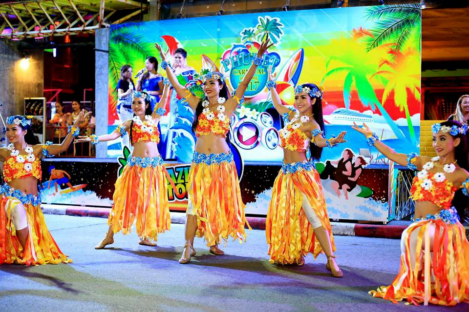 "Phuket Carnival at Patong ""ready to rock Phuket"" 