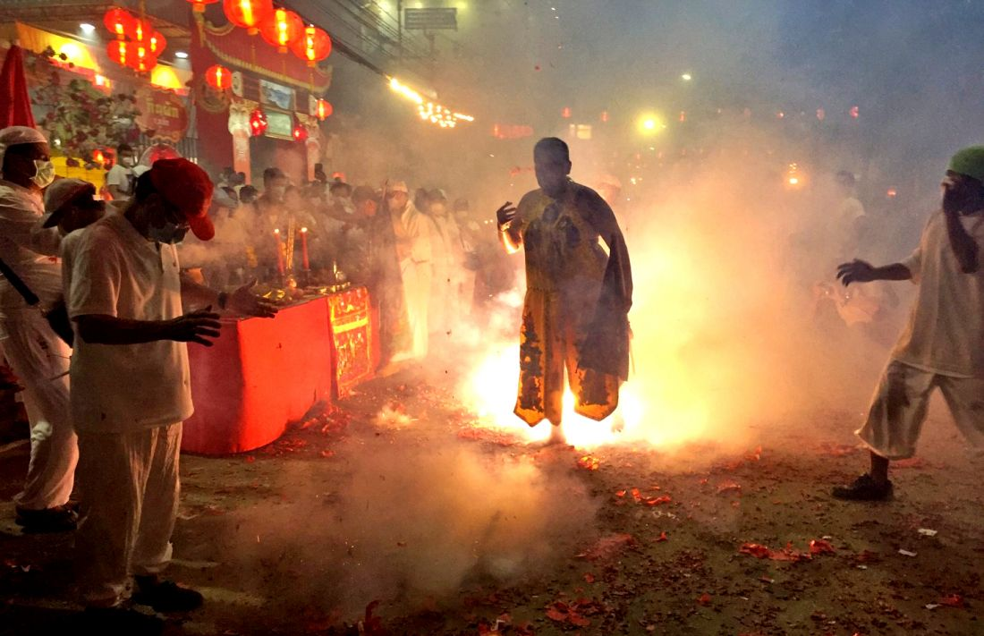 Final night of Vegetarian Festival in Phuket – Photo montage | The Thaiger