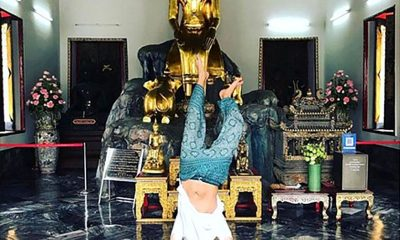 Instagrammer apologises for doing handstand at Wat Pho   The Thaiger