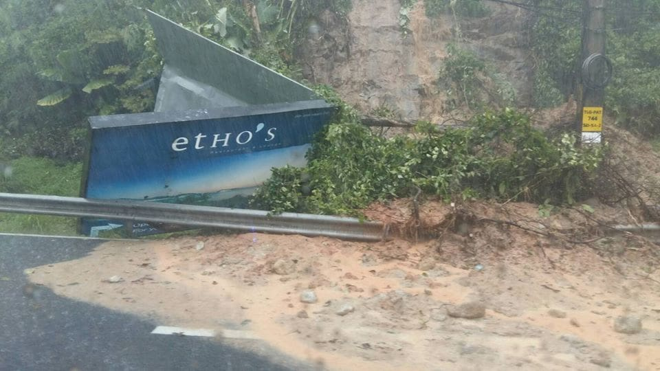 Torrential rain dogs west coast of Phuket this morning | News by The Thaiger