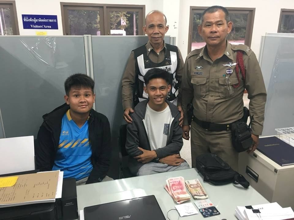 Phuket boys return tourist's cash and belongings  | News by The Thaiger