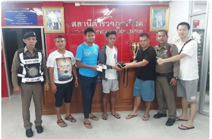 Phuket boys return tourist's cash and belongings  | The Thaiger