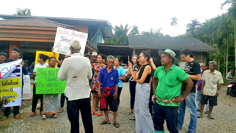 Krabi residents say no to dolomite mine | The Thaiger