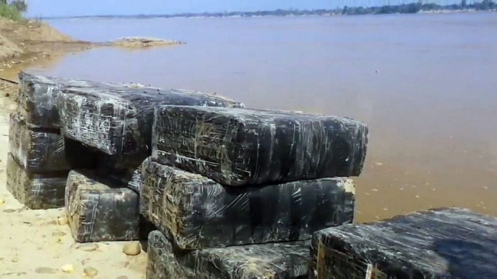 A tonne of marijuana seized on the banks of the Mekong | News by The Thaiger