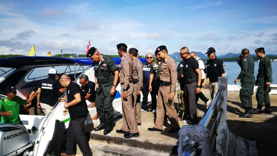 Krabi crackdown nets 113 cases of illegal foreigners | The Thaiger