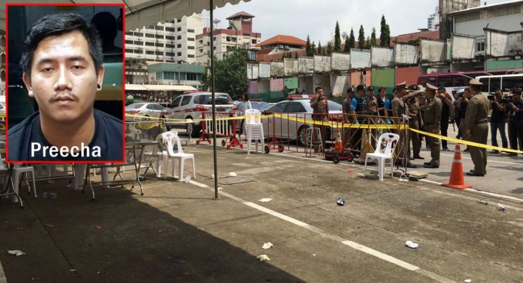 Shooter surrenders over Bangkok shootout | News by The Thaiger