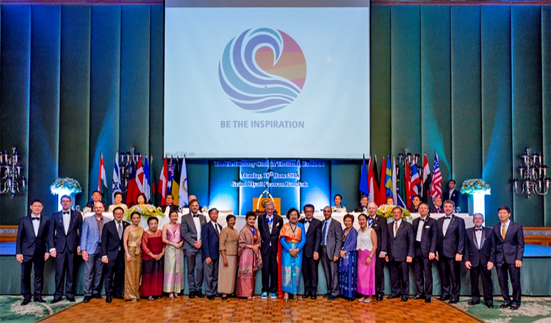 Rotary Club of Bangkok and Rotary Thailand celebrate 88th anniversary | The Thaiger
