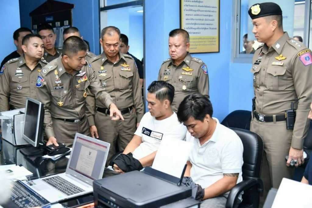 Two Vietnamese return to the scene of the crime and get arrested | News by The Thaiger