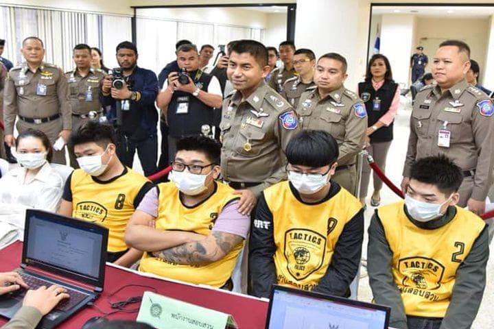 รวบแก๊งจีน ปล่อยเงินกู้ดอกโหด ใช้ไทยเป็นฐานทวงหนี้ | The Thaiger