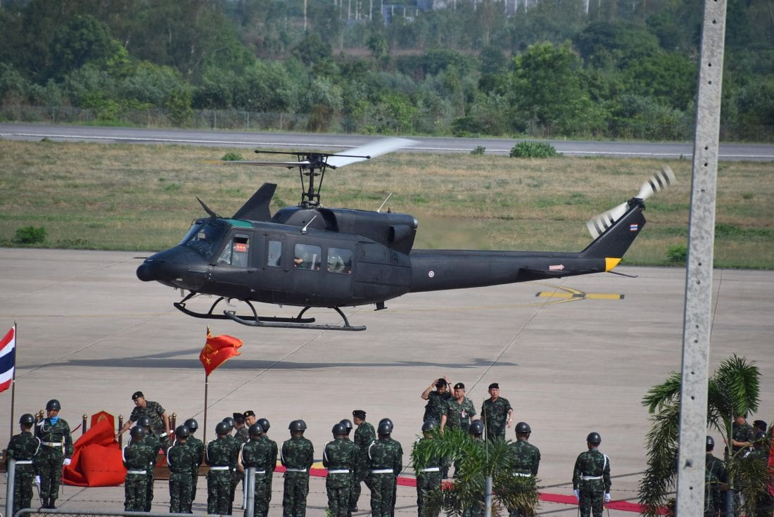Storm forces Army helicopter into emergency landing   The Thaiger
