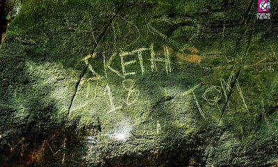 Tourists grafitti Chiang Mai caves | The Thaiger