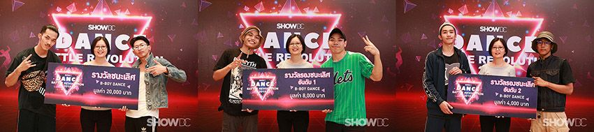 """More than 80 dance groups from around Thailand compete in """"SHOW DC Dance Battle Revolution"""" 
