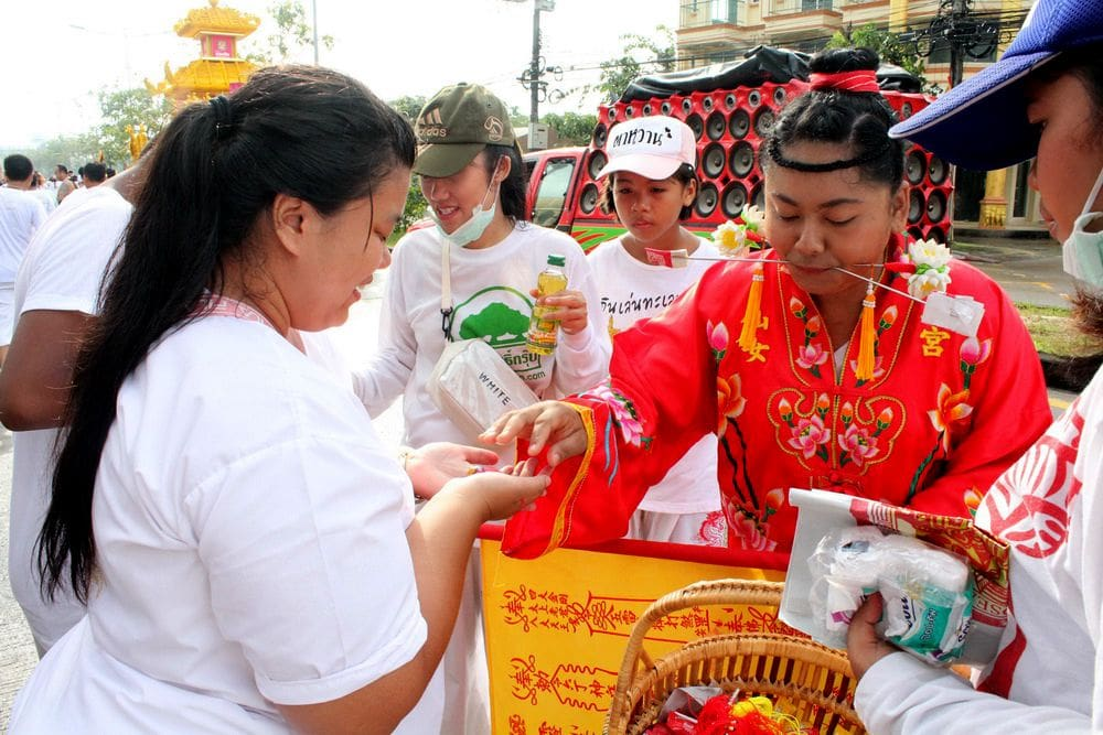 Phuket vegetarian festival processions kick off | News by The Thaiger