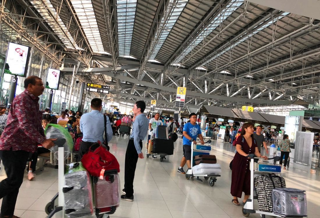 Airport tips for cheapies – Bangkok | The Thaiger